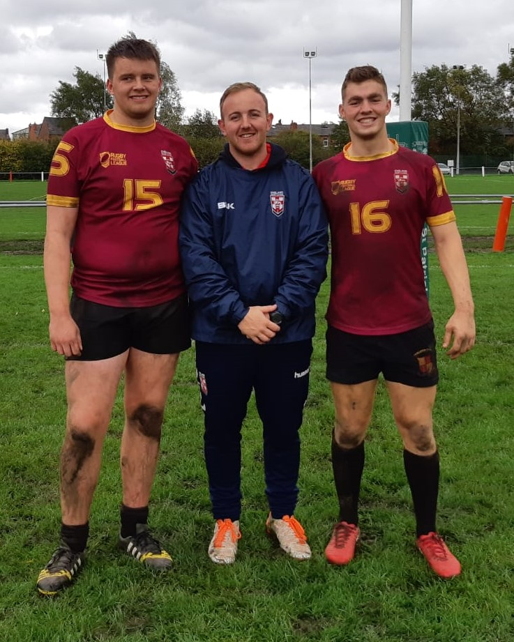 England Colleges Rugby Students